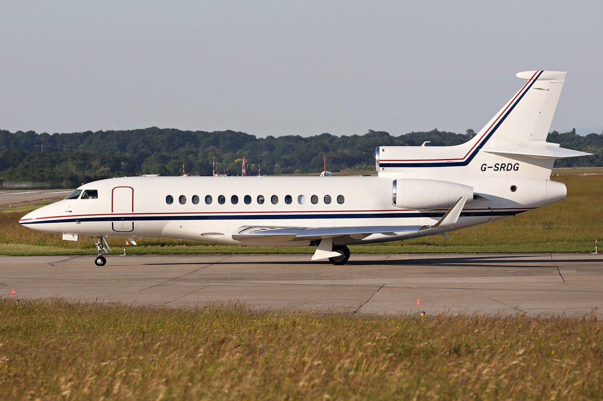 G-SRDG Dassault Falcon 7X leaving #EBACE2017 #DASSAULT <br>http://pic.twitter.com/sMOCIIAxkE