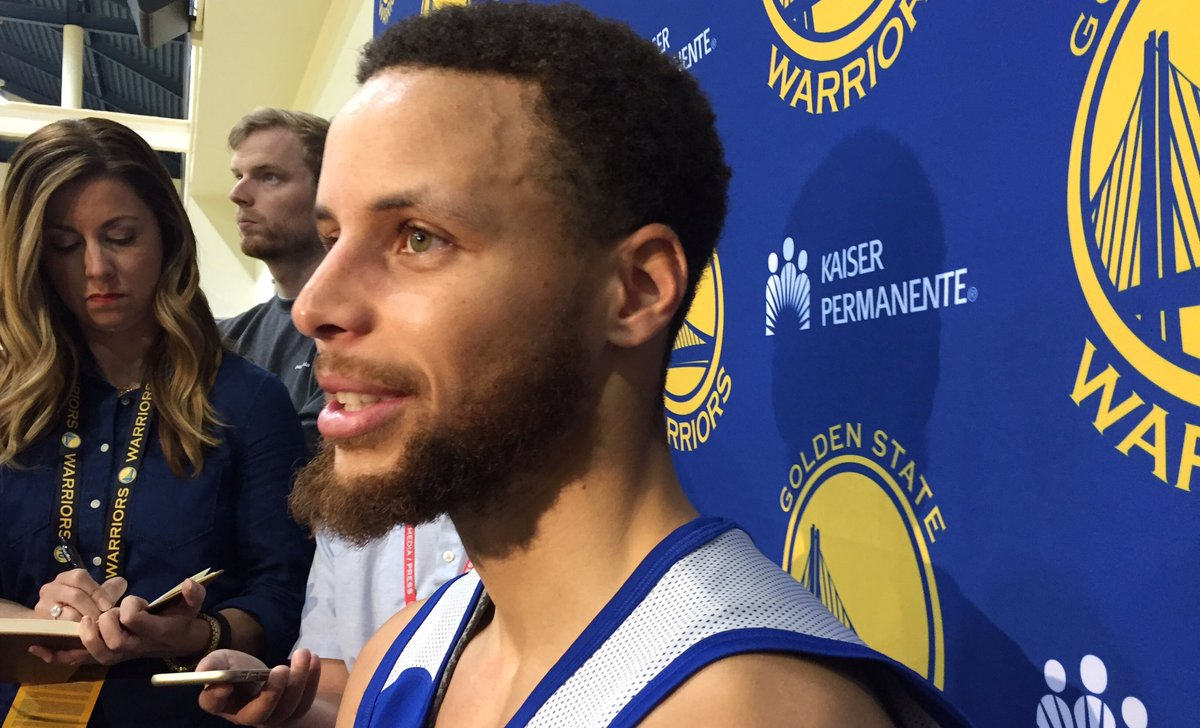 'Hopefully we get off to a good start & can feed off the energy of our crowd.' -  on @StephenCurry30starting  at #NBAFinalshome