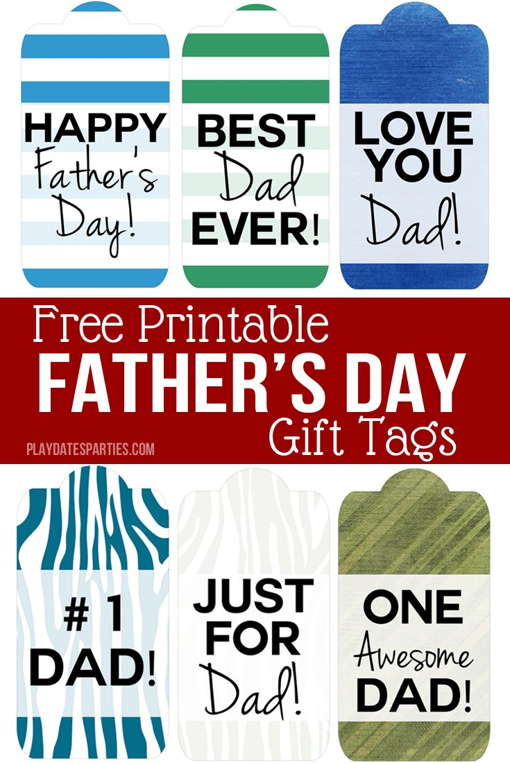 graphic regarding Free Printable Fathers Day Tags named ideasfordad hashtag upon Twitter