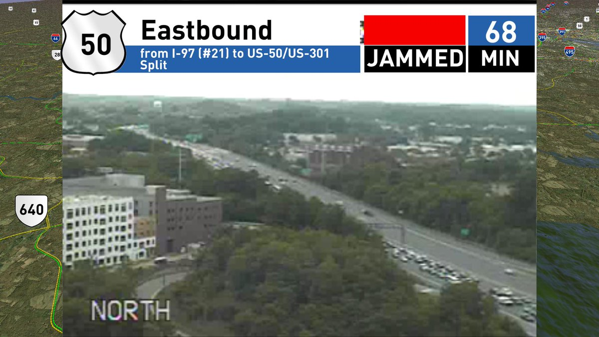Traffic jammed out of Annapolis w lanes open #MDtraffic https://t.co/u...