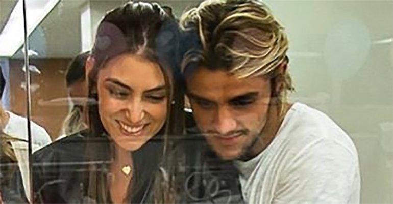 Felipe Simas vai com a esposa conhecer a sobrinha, Madalena: 'Admirando a pureza' -> https://t.co/lSq6MWzEX0