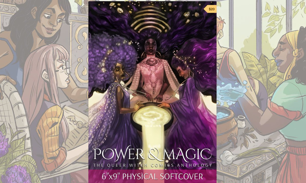 Whaaaat - you haven&#39;t treated yourself to #POWERANDMAGIC: The Queer Witch Comics Anthology? Missing out.   https:// gumroad.com/powerandmagicp ress &nbsp; …  #woc #poc <br>http://pic.twitter.com/RjkSmZcUEa