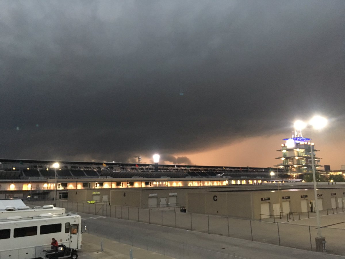 May @IMS always provides an opportunity for an awesome shot of a  massive storm cloud approaching the pagoda #inwx #Indy500 #indycar #besafe <br>http://pic.twitter.com/yPGvwnGg6x