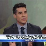 .@jessebwatters: What [@HillaryClinton] needs to do is just go quietly so other Democrats can...be the real leaders of the Democratic Party.