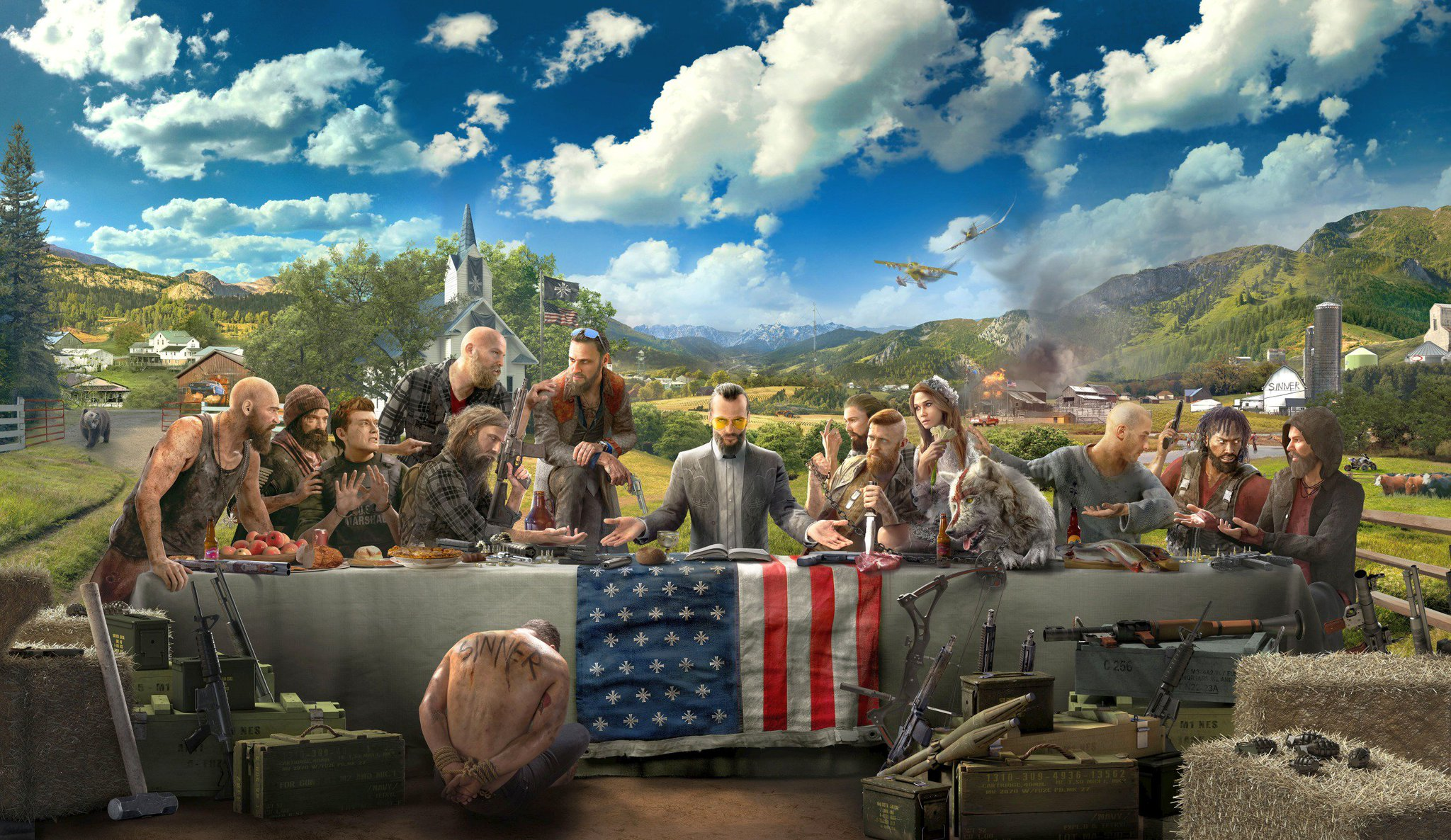 Far Cry 5 Character Trailers & Artwork Revealed