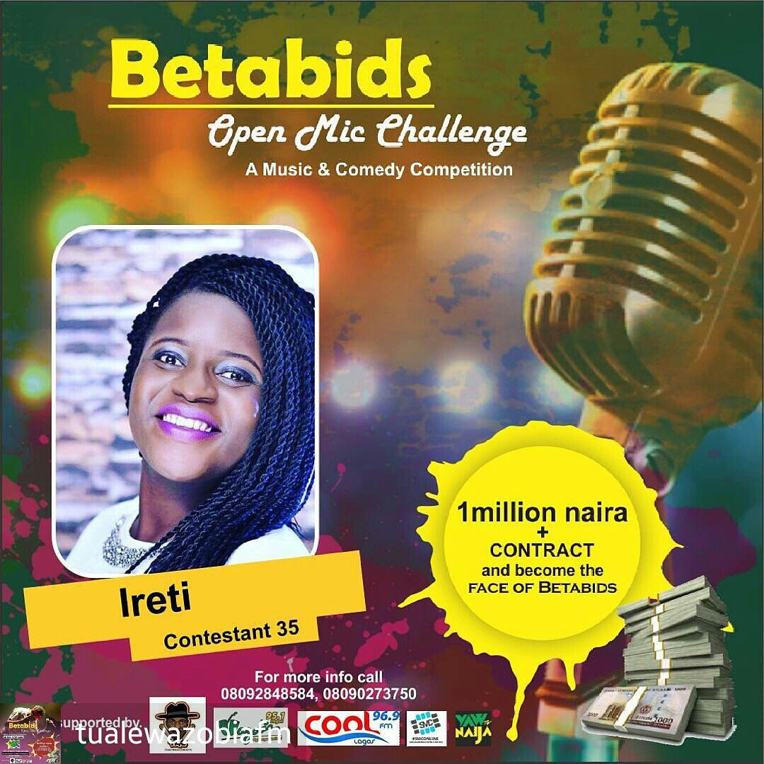 Are you very #FUNNY or talented upcoming #ARTIST? Register now for the #BETABIDSOPENMICCHALLENGE with just 2k on  http:// OPENMIC.BETABIDS.com  &nbsp;  <br>http://pic.twitter.com/p2Q4eW8TLj