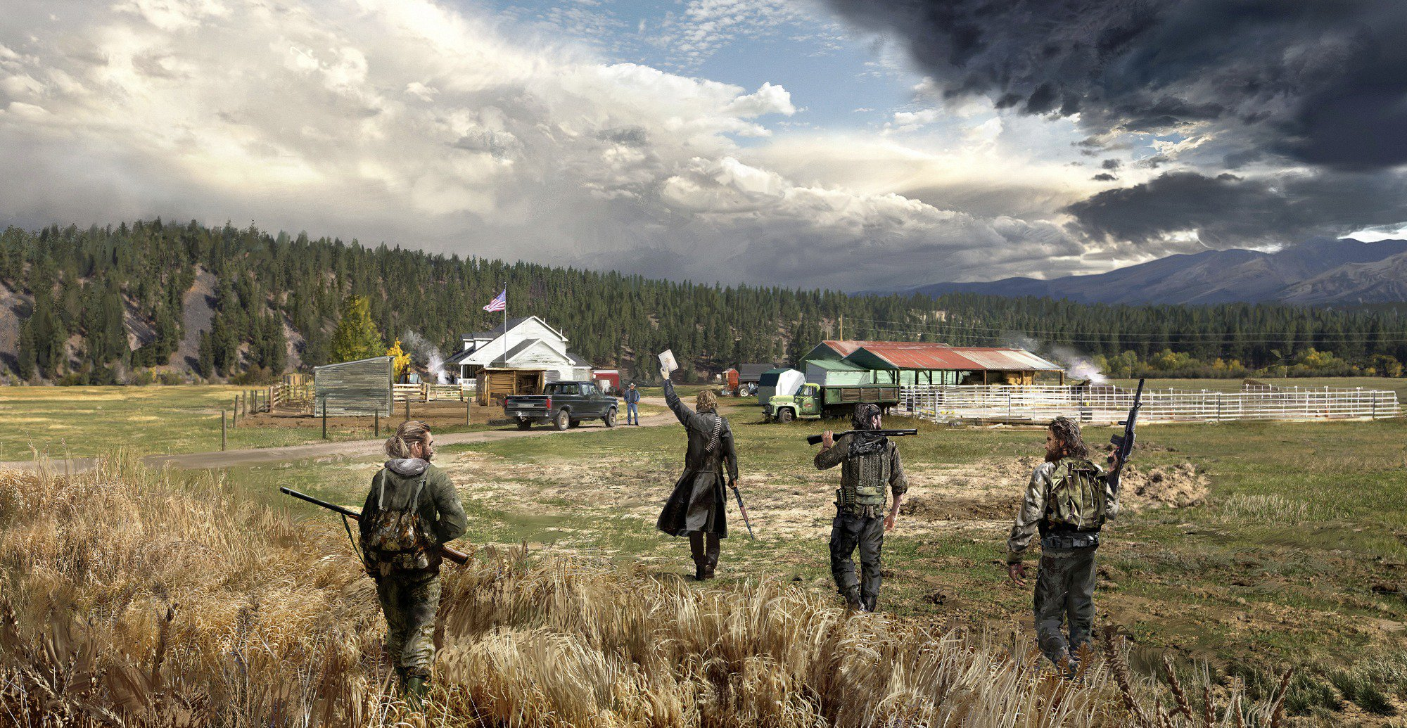 Far Cry 5 Character Trailers