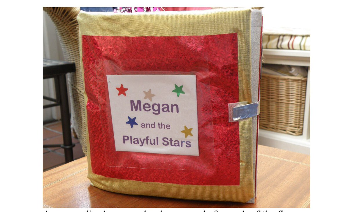 What lovely idea for a sensory class book or for leavers as they transition to a new setting #pmld #sensory #sen <br>http://pic.twitter.com/hGW0DIDdNk