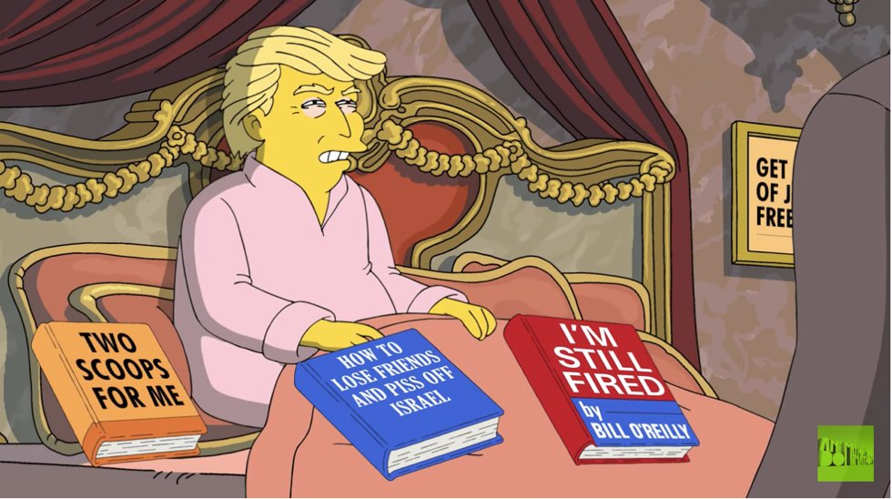 Trump tries to patch things up with Comey in latest 'Simpsons' short https://t.co/w3QfGGz66m