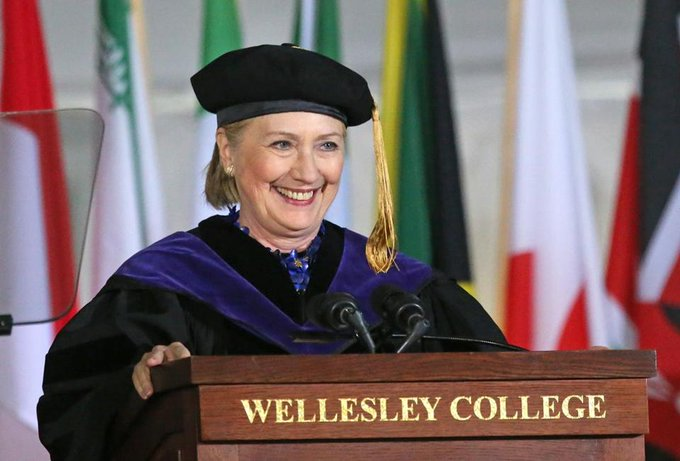 What did Hillary Clinton really say at Wellesley College on Friday? We annotated her speech: https://t.co/XmIRKXeBJE