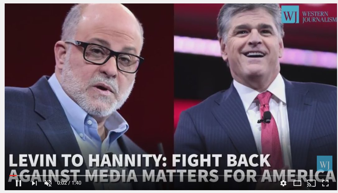 Sean Hannity advised to SUE MEDIA MATTERS & OTHER LIBTARD GARBAGE!  https://t.co/GIbO2ICuJP