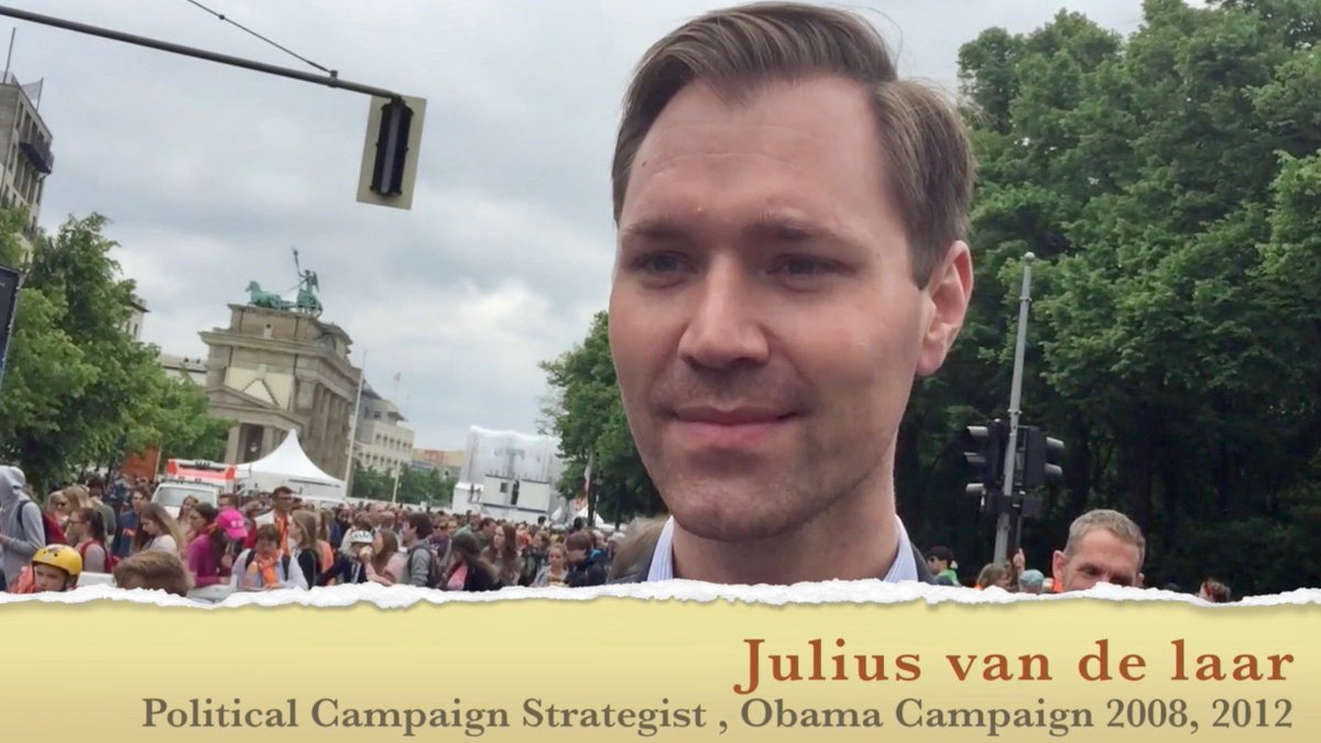 After #Merkel &amp; #Obama reunited in #Berlin I asked campaign strategist @juliusvandelaar for his thoughts  https:// youtu.be/5Rmo1cAyw0M  &nbsp;   @dwnews<br>http://pic.twitter.com/6ZDc9Lhd9p