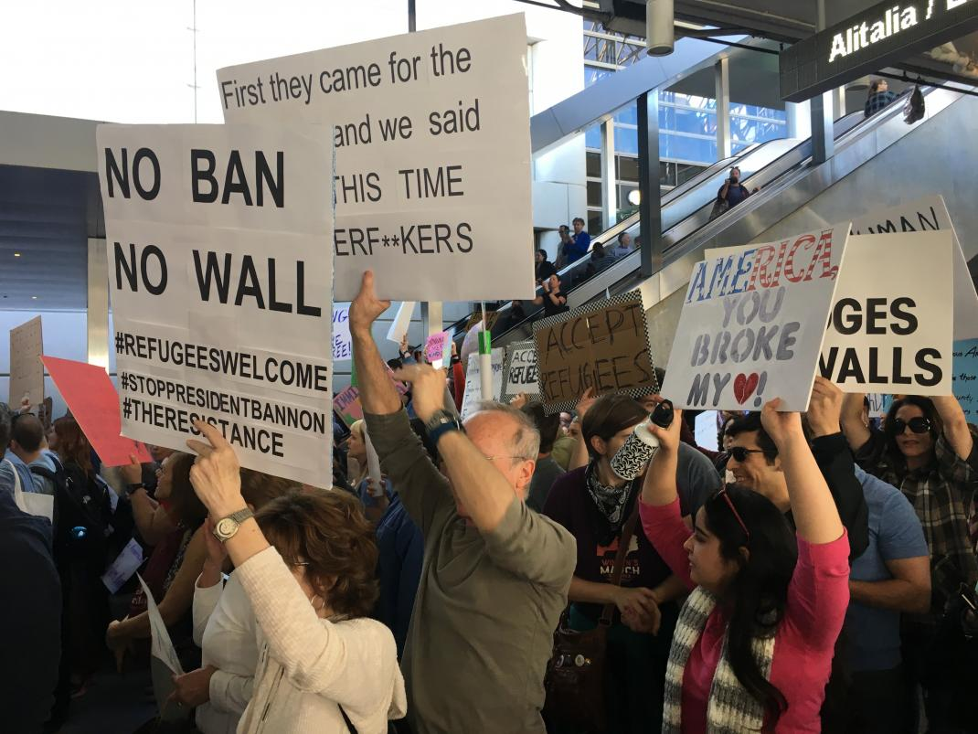 The 'religious intolerance, animus & discrimination' behind Trump's travel ban also infects his barring of refugees. https://t.co/jWPE7zbrnt