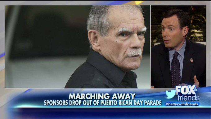 Sponsors, Police Groups Boycott Puerto Rican Day Parade Over Plan to Honor Terrorist @foxandfriends @kilmeade https://t.co/B491sN33CQ