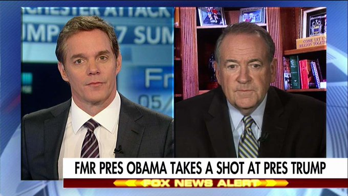 Huckabee: Obama Is Like the 'Captain of the Titanic Praising the Orchestra' @BillHemmer @AmericaNewsroom https://t.co/XLE1ZgQECM
