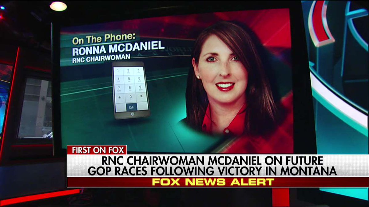 .@GOPChairwoman: @GregForMontana Won Because of His Support for @POTUS & Draining the Swamp https://t.co/n1p1qCg9zg