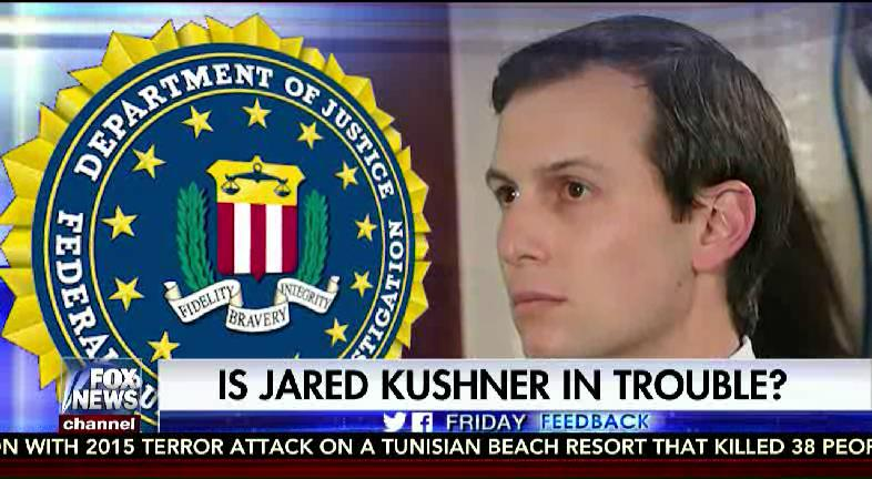 #FridayFeedback: Is @jaredkushner in trouble? #SpecialReport