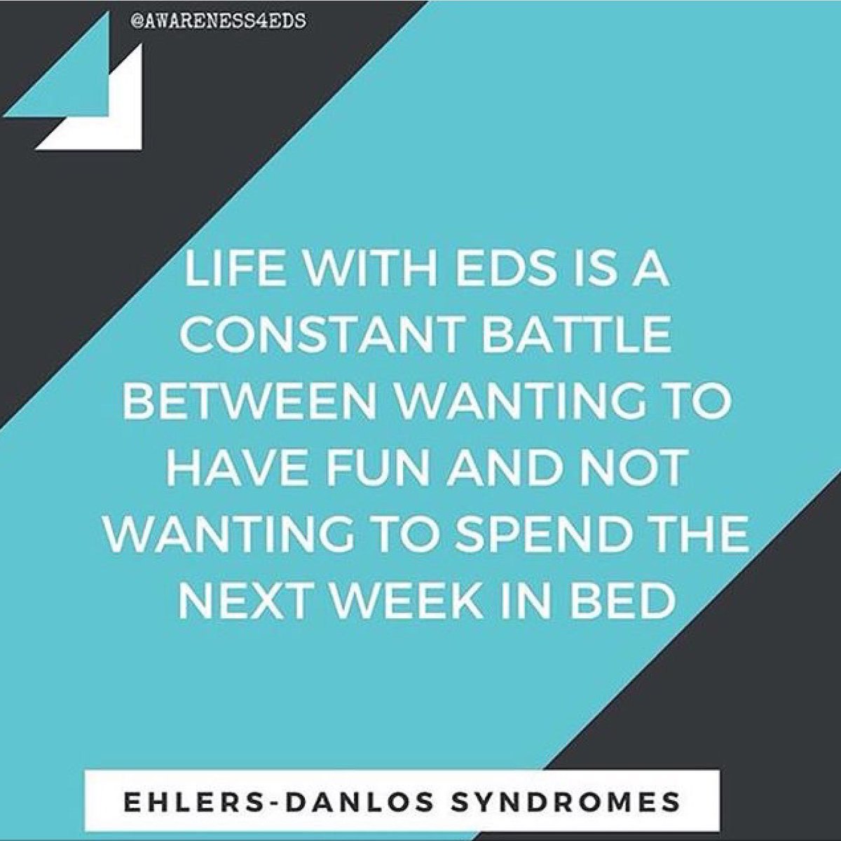 Luckily for me it&#39;s just most of the following day. #awareness4eds #eds #ehlersdanlos #ehlersdanlosawareness #spoonie #chronicillness<br>http://pic.twitter.com/LypZB1XLSg