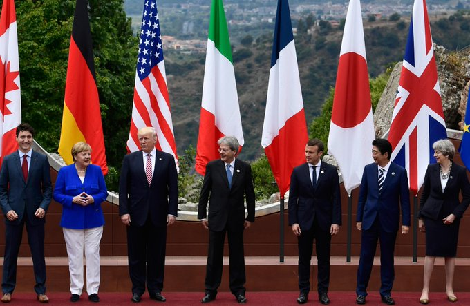 Brexit, terrorisme, climat : que s'est-il décidé au terme de cette première journée du G7 ? https://t.co/ramcpmTshg