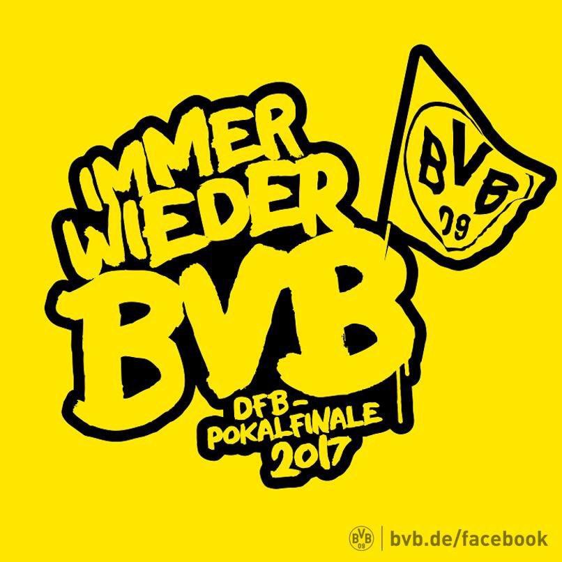 Matchday. Dortmund? #Dortmund! #kommanDOpokalsieg #nurderBVB #sgeBVB<br>http://pic.twitter.com/iRWs0wyIYV