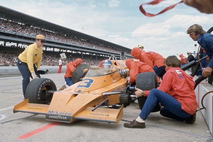 Happy Birthday to Johnny Rutherford!
