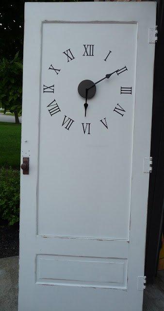 A door #repurposed as a clock? Good idea or bad? #homedesign   http:// cpix.me/a/24651693  &nbsp;  <br>http://pic.twitter.com/Qgck2nVIUx