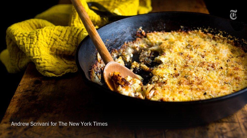 Meet the allium family in this luscious leek, spring onion and green garlic gratin https://t.co/yixA8ZugLQ https://t.co/gj8YJ9nWpt