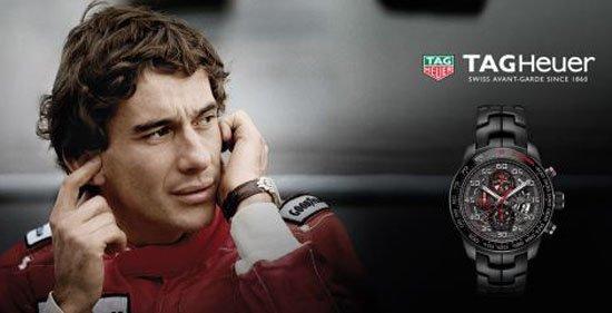5a8d52ef6ae TAG Heuer presta homenagem a Ayrton Senna com três modelos de relógios  https