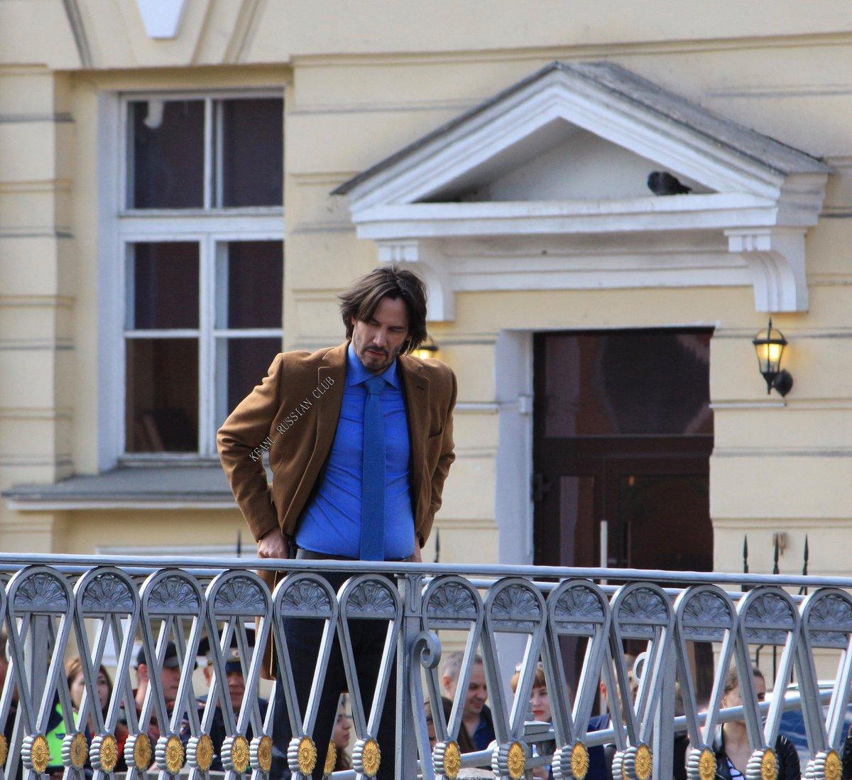 Киану ривз в санкт петербурге фото