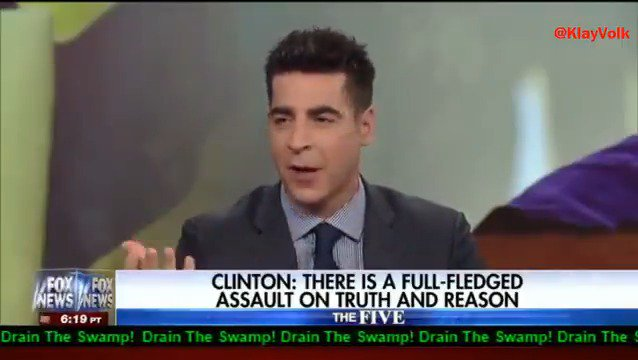 .@jessebwatters: Every time Hillary opens her mouth the American public says, thank God she isn't President 👌