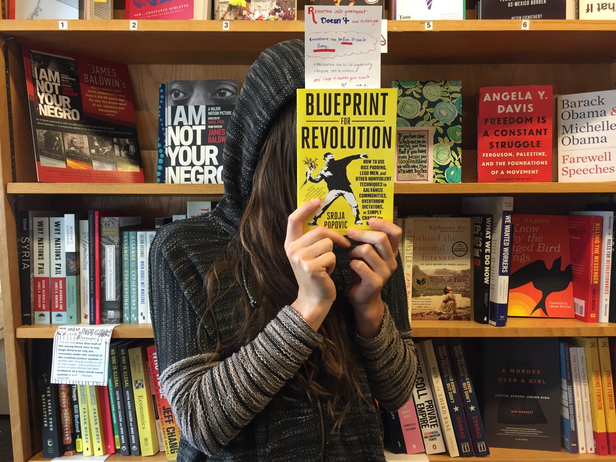 Bookshop santa cruz on twitter fridayreads blueprint for bookshop santa cruz on twitter fridayreads blueprint for revolution by srdjapopovic resisting unfit government doesnt need to drain you malvernweather Choice Image