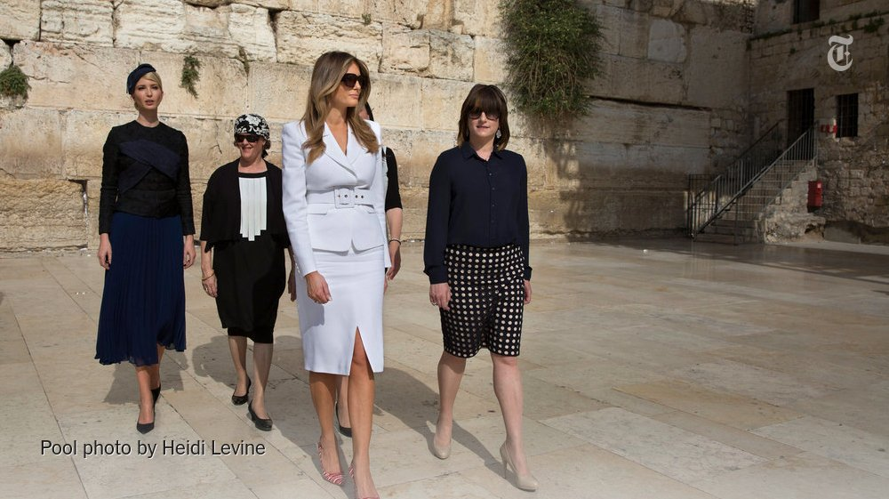 Melania Trump's first big trip abroad was dressed in ambivalence and armor https://t.co/bCgjlqcPpC https://t.co/WoH6DJCasW