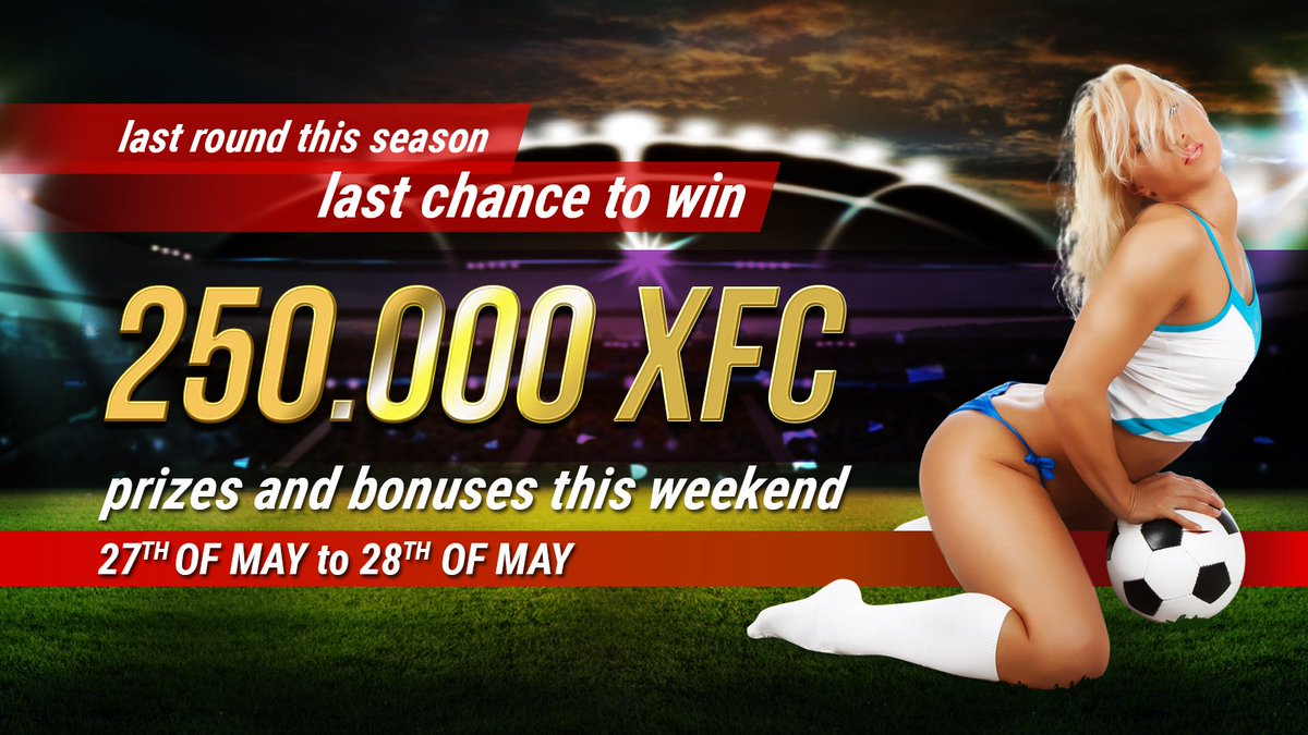 Last round in #SerieA  Last chance to win free #XFCCOIN#FootballCoin #Bitcoin #Football #Ethereum #Blockchain  https://www. footballcoin.io/game/#!/contes ts/ &nbsp; … <br>http://pic.twitter.com/rZxECRCH9n