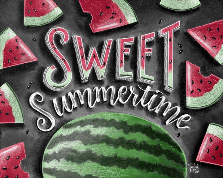 Summer is coming! #summer #watermelon @HandmadeHour #handmade @Etsy #etsy #etsyshop #etsychaching #smallbusiness #chalkartist #illustration<br>http://pic.twitter.com/FdJirxLEuo