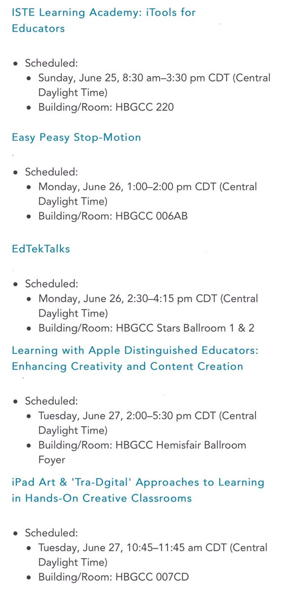 Come and join in the learning at #iste2017 in San Antonio USA!  #adedu #edtech #ipaded