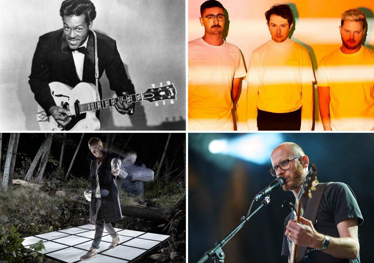Las mejores canciones de la semana: Chuck Berry, alt-J, Active Child y más. Escúchalas aquí: rollingstone.com.mx/musicars/las-m…