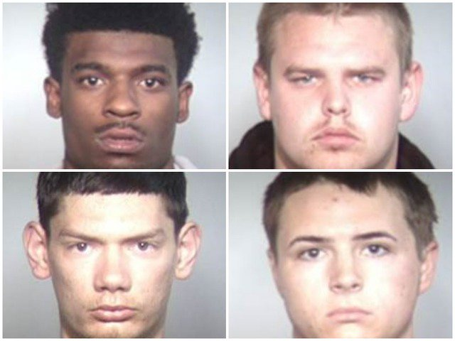 Police release mugshots of four men arrested in connection to shooting that left 2 people dead in Tempe https://t.co/Pm2vpWWK7y #abc15