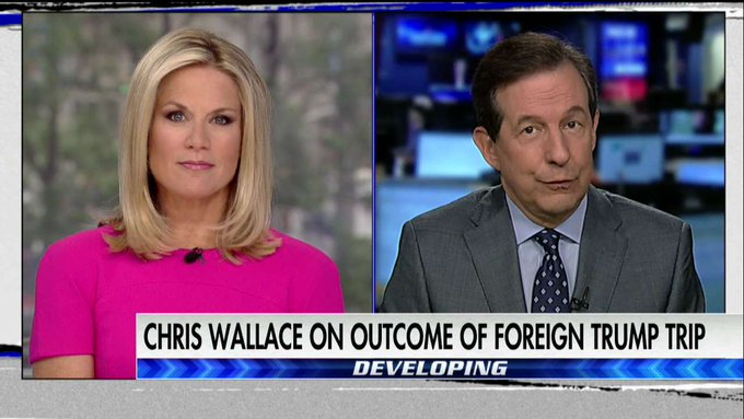 Chris Wallace on @POTUS Middle East trip: I think that this was a very substantial and largely successful trip by the president. #TheStory