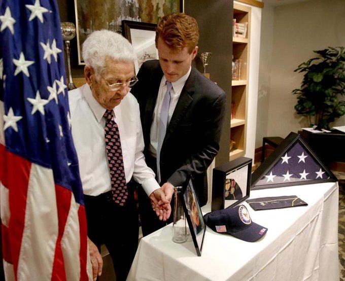 "World War II veteran John ""Jack"" Hurley, a Mass. native, recounts his Okinawa experience for Library of Congress. https://t.co/cfrTPb0ShN"