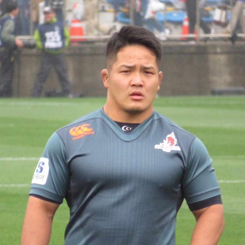 ラグビーの日本代表、庭井祐輔