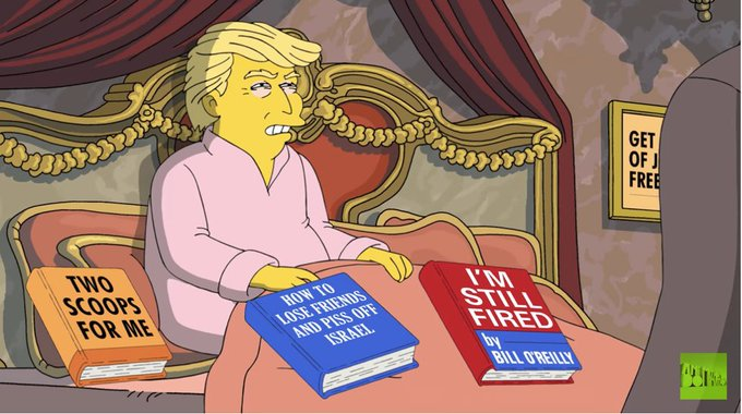 Trump tries to patch things up with Comey in latest 'Simpsons' short https://t.co/xo89gBzM3n