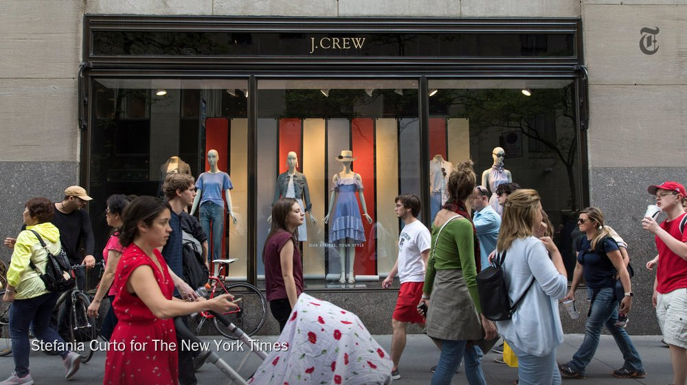 What happened to J. Crew? Critical Shopper tries to figure out where things went wrong https://t.co/MO5Uc30SZZ https://t.co/vyZ1oZmys3