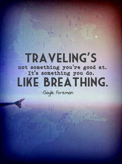 Traveling is like breathing. #SaturdayThoughts #travel #startups #success #makeyourownlane #defstar5 #Mpgvip #GrowthHacking #quotes<br>http://pic.twitter.com/dQhb33NKBf