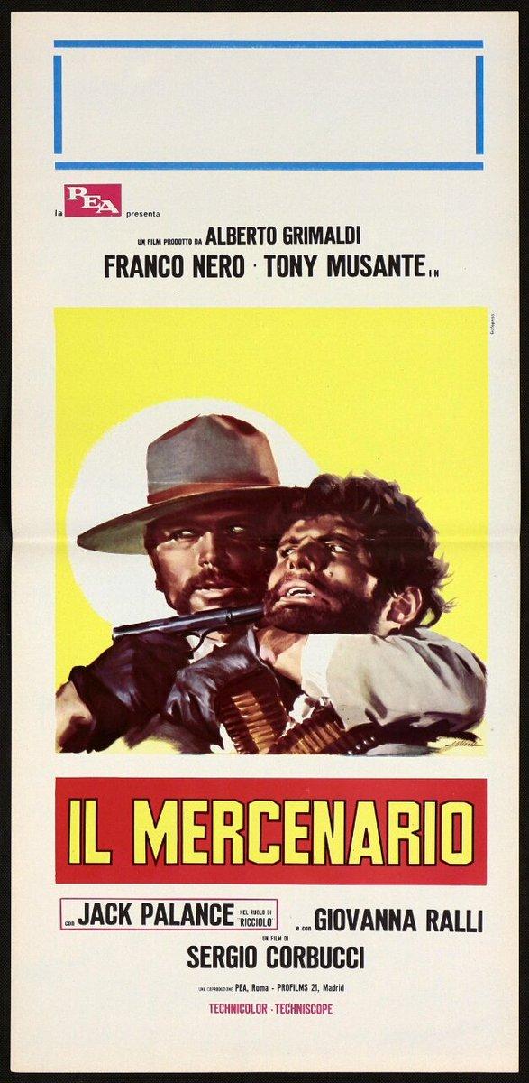 THE MERCENARY (1968) Italian Locandina #MoviePoster <br>http://pic.twitter.com/h6BVH93vwU