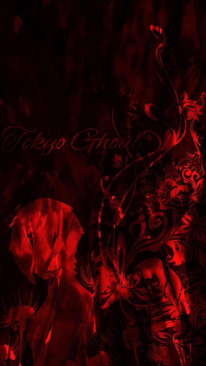 輝桜 かぐさ V Twitter 夜桜の自由画像加工 第3弾 東京喰種 トーカの壁紙です 黒色の方は見にくいですね 東京喰種 夜桜の第四倉庫