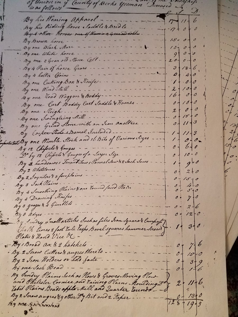 Best part of reviewing my #Quaker #ancestor records is looking at one of these without people listed as property   #genchat<br>http://pic.twitter.com/Mpos8GyCoo