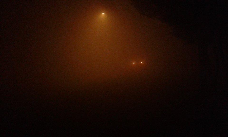 RT @Clave9cl AHORA LAUTARO: Visibilidad sumanente reducida por niebla
