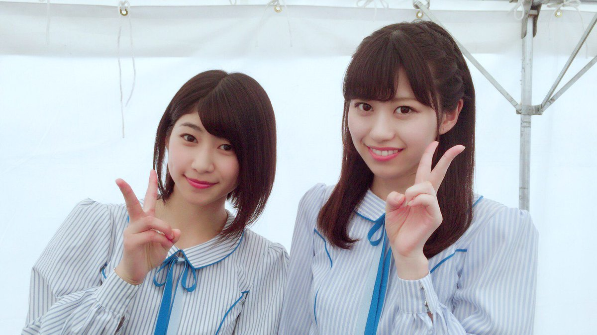 "STU48 On Twitter: ""始まりました😊☀️! #藤原あずさ #佐野遥 #岩田陽菜 #土路生優里"