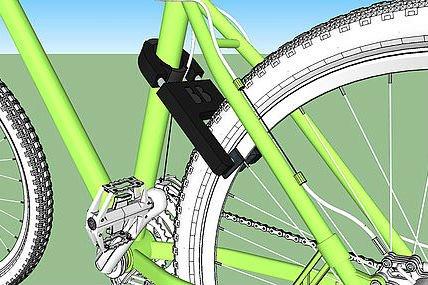 Dispositivo permite bloquear una bicicleta cuando es robada. http://bit.ly/2rqMyeL
