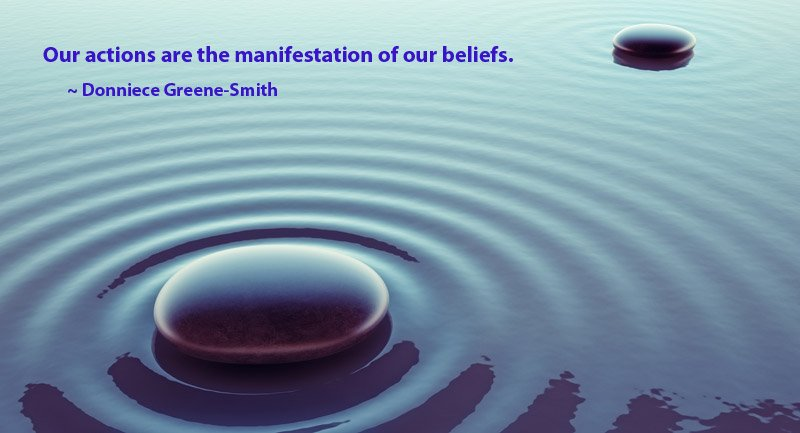 Our #actions are the #manifestation of our #beliefs.<br>http://pic.twitter.com/4lA4FiKkK3